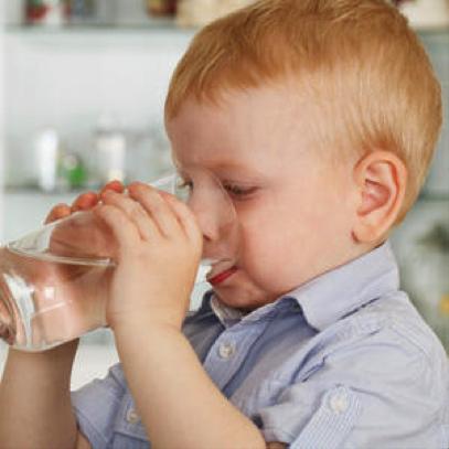 A hidratação do bebé
