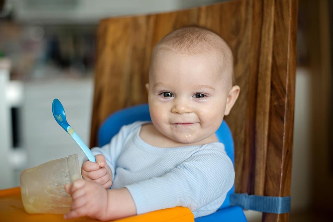 Puré de Alho Francês e Batata – Idade +6 meses
